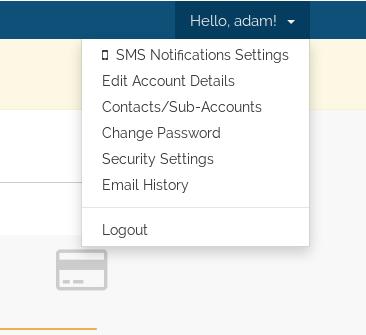 Cara Merubah detail kontak member area anda