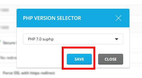 Cara merubah versi PHP di Directadmin