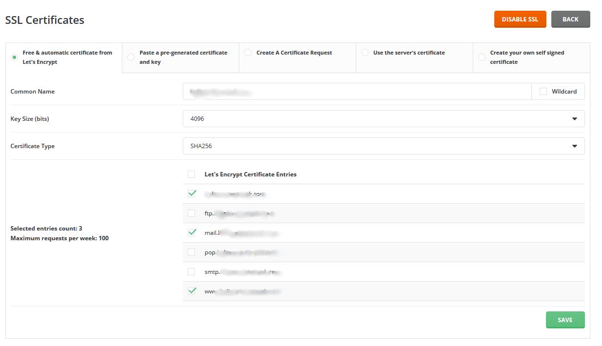 Cara aktivasi SSL Gratis dari Let's Encrypted untuk domain anda di Directadmin