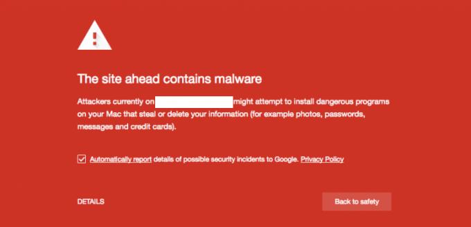 Menghilangkan malware dengan webmaster tools
