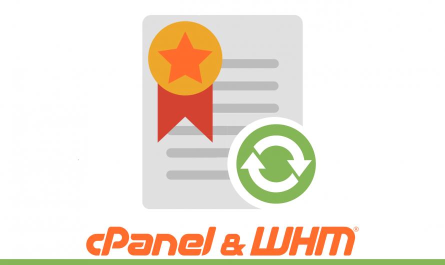 Bagaimana cara memasang SSL pada Hostname cPanel server